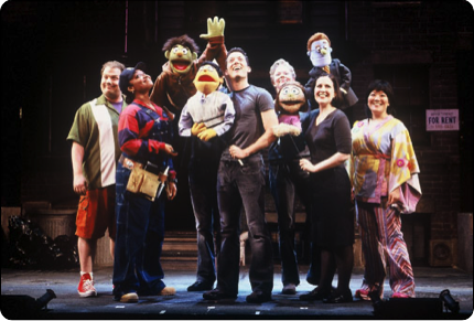 Avenue Q Christmas Eve.Stephanie Was In Avenue Q